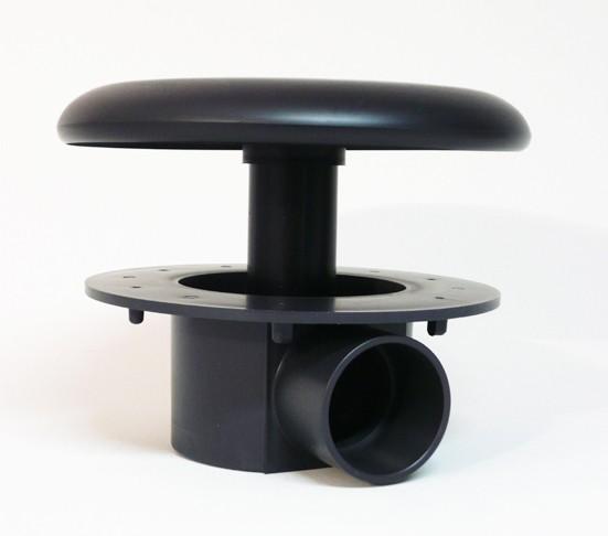 bodenablauf 50 mm mit kammer extra schwere ausf hrung teichbau koi teich filter ebay. Black Bedroom Furniture Sets. Home Design Ideas